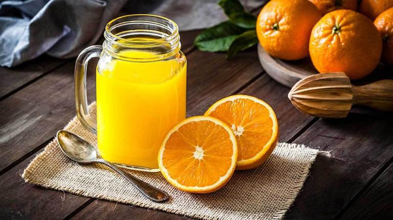 Nước cam là loại đồ uống không thể bỏ qua cho phụ nữ mang thai