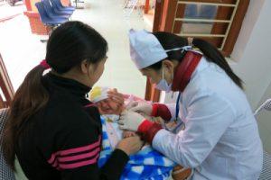 Bắc kạn tích cực chủ động phòng, chống bệnh sởi cho trẻ em