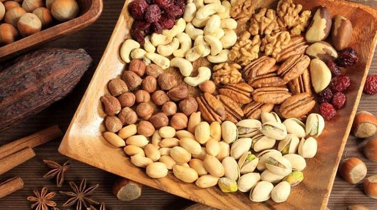 Các loại hạt có tác dụng làm tăng chất lượng tinh trùng nam giới nên bổ sung vào chế độ ăn uống