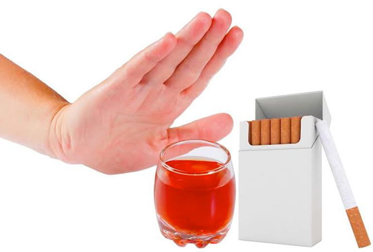 Rượu, bia, thuốc lá tác động xấu đến chất lượng tinh trùng nam giới không nên sử dụng