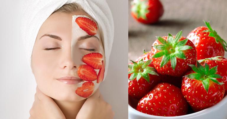 Mặt nạ dâu tây có tác dụng cấp ẩm và dưỡng ẩm cho da rất tốt