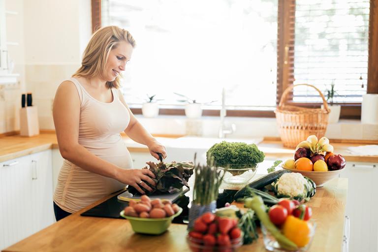 Thực phẩm bổ dưỡng, ngon miệng cho bà bầu 3 tháng cuối