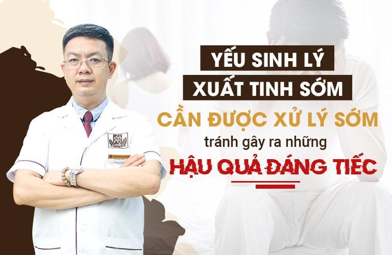 Lương y Đỗ Minh Tuấn nhận định yếu sinh lý, xuất tinh sớm cần được điều trị sớm