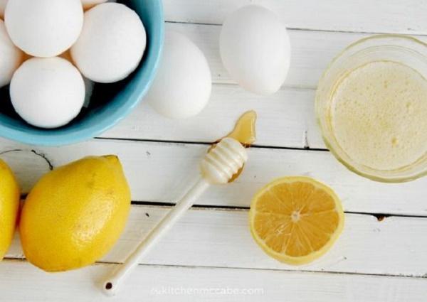 Tác dụng của trứng gà và chanh đối với da dầu nhờn