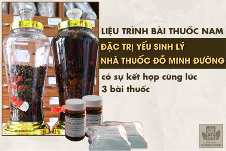 Bài thuốc chữa yếu sinh lý Đỗ Minh Đường
