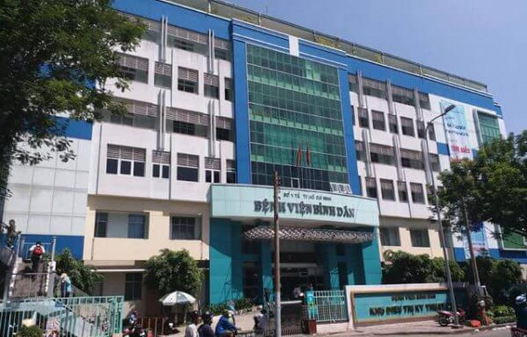 Khoa Nam học của bệnh viện Bình Dân là một địa chỉ khám yếu sinh lý uy tín và chất lượng tại TPHCM