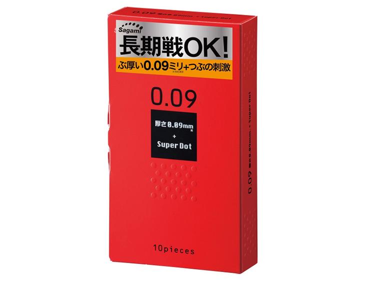 Không còn lo lắng vấn đề xuất tinh sớm khi sử dụng sản phẩm bao cao su Sagami Super Dot 009