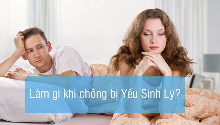 Vợ nên làm gì khi chồng bị yếu sinh lý?