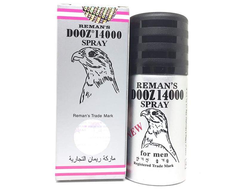Thuốc xịt chống xuất tinh sớm Dooz 1400 có tác dụng chống xuất tinh sớm an toàn và hiệu quả