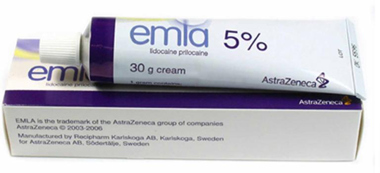 Gel bôi trơn chống xuất tinh sớm Emla 5% giúp nam giới cảm thấy thoải mái khi quan hệ và chống xuất tinh sớm
