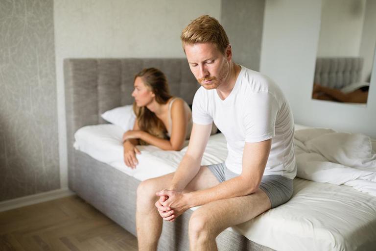 Rối loạn cương dương do yếu tố tuổi tác hoặc yếu tố tâm lý không thể tự khỏi