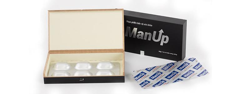 Thuốc Man Up giúp cải thiện hiệu quả tình trạng xuất tinh sớm ở cánh mày râu
