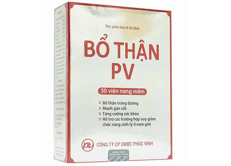 Sản phẩm bổ thận PV được chiết xuất 100% từ các thảo dược có sẵn trong tự nhiên, người bệnh có thể an tâm khi sử dụng