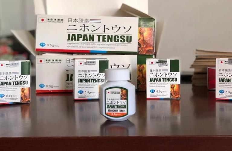 Thuốc cường dương Japan Tengsu có tốt không?