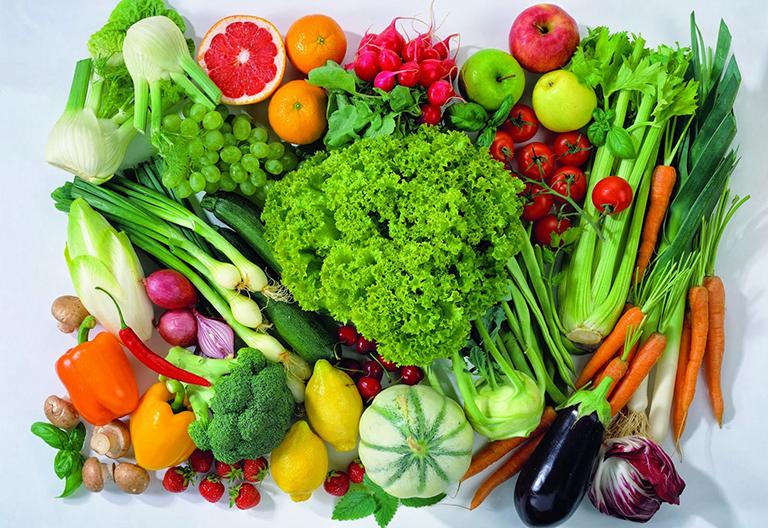Có chế độ ăn uống khoa học, đầy đủ chất dinh dưỡng