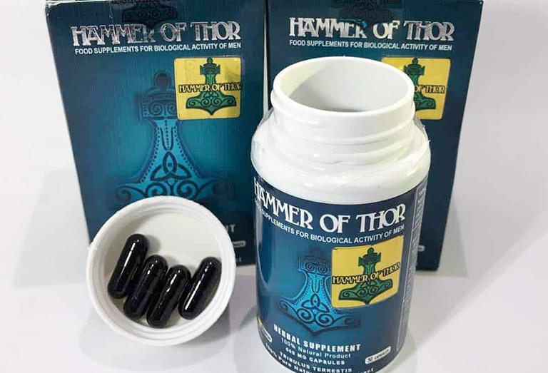 Thuốc cường dương Hammer of thor