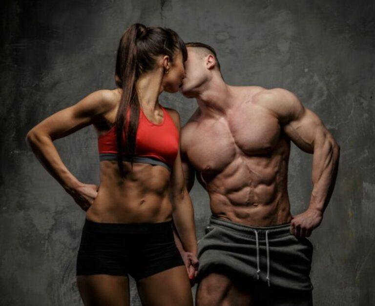 Tập gym là lựa chọn của đa số nam giới vì vừa có ngoại hình cuốn hút vừa tăng cường khả năng sinh lý