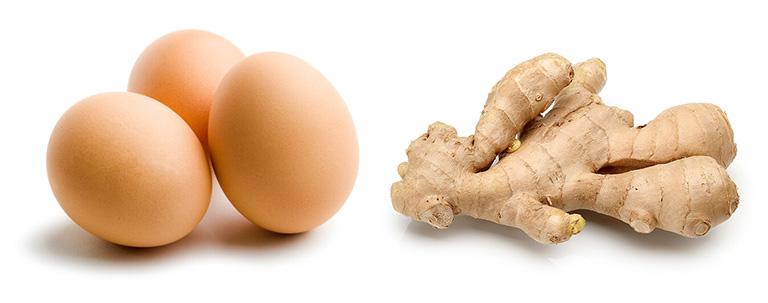 Dùng trứng gà và gừng tươi chữa bệnh yếu sinh lý bạn đọc không nên bỏ qua