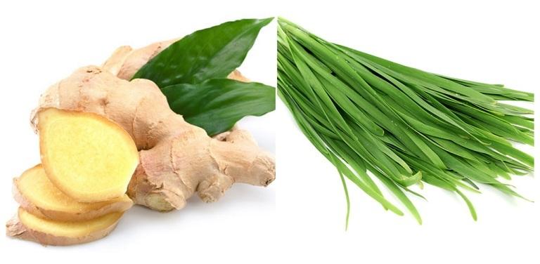 Ngoài măng tây và hành tây, bạn có thể chữa hoặc phòng xuất tinh sớm từ các gia vị nấu ăn hàng ngày như gừng và lá hẹ