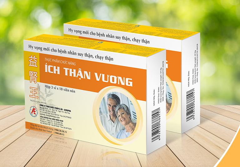 Thực phẩm chức năng Ích Thận Vương là sản phẩm của Công ty TNHH Tư vấn Y dược Quốc tế (IMC) - Việt Nam