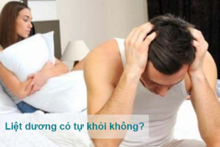 Bệnh liệt dương ở nam giới có thể tự khỏi không?