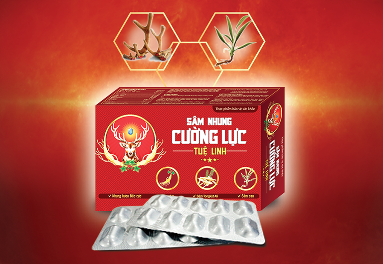 Thành phần có trong thực phẩm chức năng sâm nhung cường lực Tuệ Linh được chiết xuất 100% từ các dược liệu quý hiếm có sẵn trong tự nhiên