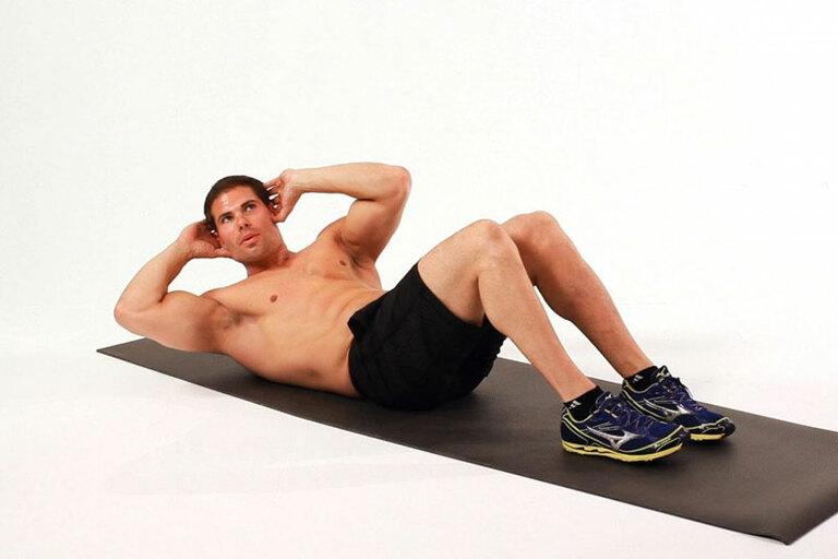 """Tập cơ bụng vừa """"đánh bay"""" được lượng mỡ thừa quanh bụng vừa rèn luyện được sức bền khi lâm trận"""