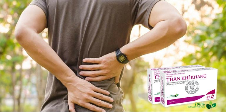 Thận Khí Khang có tác dụng bồi bổ khí huyết, mạnh xương cốt và tăng cường chức năng gan thận cho mọi lứa tuổi, đặc biệt là những người cao tuổi