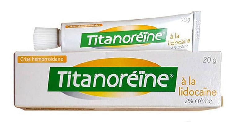 Thuốc Titanoreine giúp làm teo búi trĩ tạm thời và rút ngắn thời gian điều trị bệnh trĩ