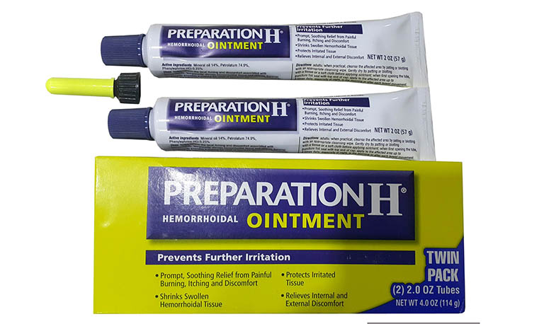 Thuốc bôi hậu môn Preparation H là sản phẩm được nhiều người bệnh trĩ ưa chuộng nhất hiện nay