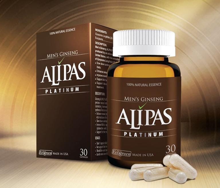 Sâm Alipas giúp cải thiện chức năng sinh lý cho cánh mày râu