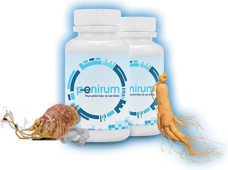 Thuốc Penirum giúp cánh mày râu thoát khỏi tình trạng xuất tinh sớm, giúp cơ thể kiểm soát sự cương cứng của dương vật