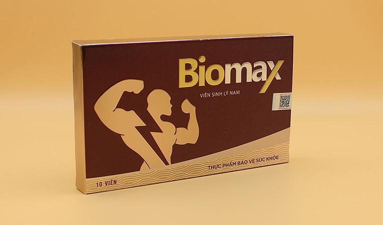Viên sinh lý nam Biomax là sản phẩm của Công ty TNHH Viet Land sản xuất và phân phối độc quyền