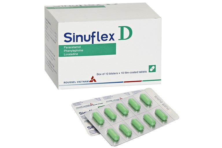 Thuốc trị sổ mũi sinuflex-D