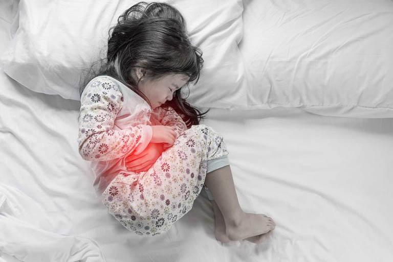 Trẻ em là đối tượng dễ mắc bệnh lý về dạ dày