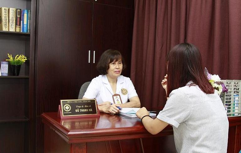 Thạc sĩ, bác sĩ Đỗ Thanh Hà cho biết chị em không nên quá lo ngại việc không thể mang thai khi mắc buồng trứng đa nang