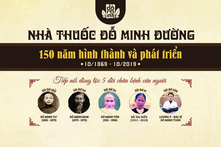 Lịch sử 5 đời dòng họ Đỗ Minh