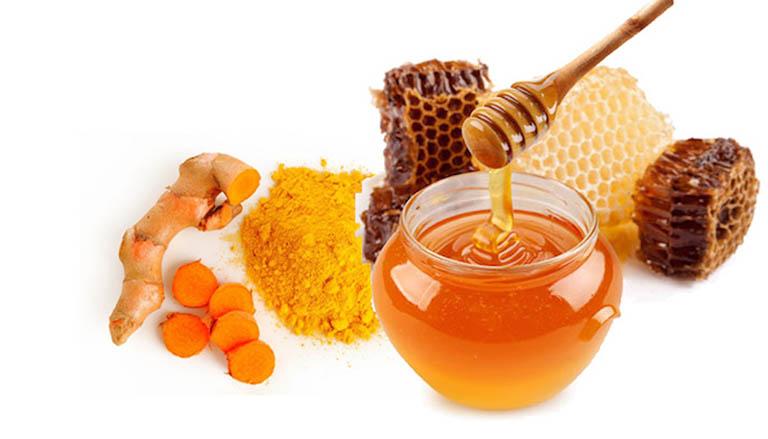 Nghệ và mật ong - Bài thuốc khắc phục đau đại tràng hiệu quả