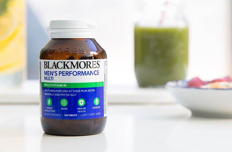 Viên uống Blackmores Men's Performance Multi có tác dụng gì?