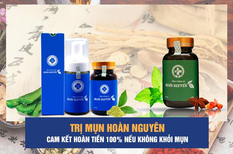 Trị mụn Hoàn Nguyên là sản phẩm được chuyên gia và người dùng đánh giá cao