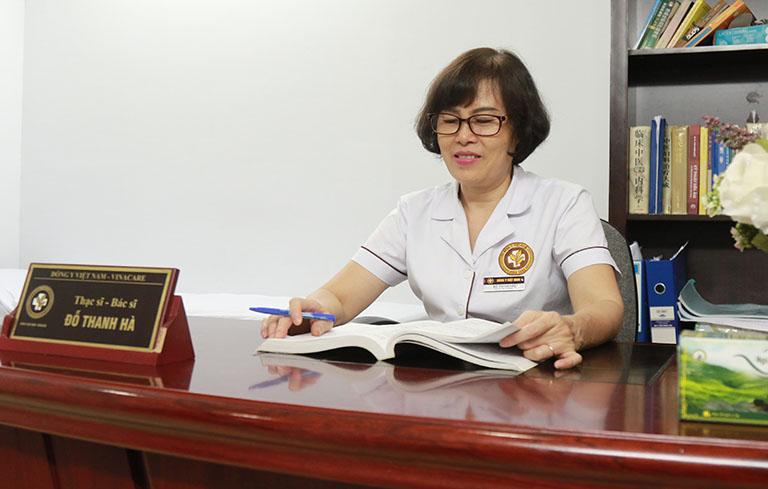 Bác sĩ Đỗ Thanh Hà và phương pháp điều trị của bà luôn được đánh giá cao