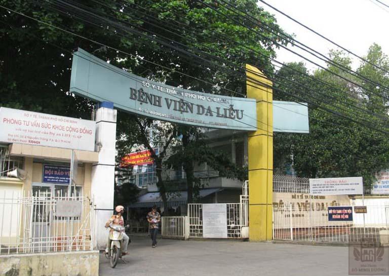 Bệnh viện da liễu TP. Hồ Chí Minh chuyên trj bệnh nổi mề đay, mẩn ngứa