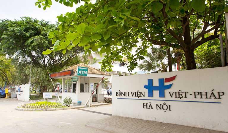 Bệnh viện Việt Pháp tập trung nhiều y, bác sĩ giỏi cùng trang thiết bị hiện đại
