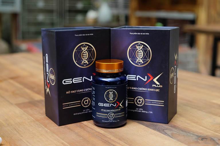 Công dụng của thực phẩm chức năng Gen X Plus
