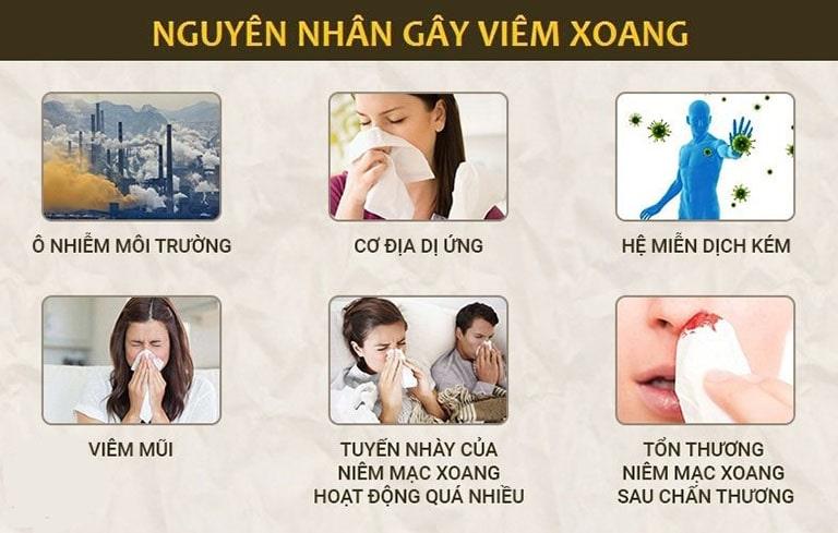 Những nguyên nhân dễ gây viêm xoang phổ biến nhất