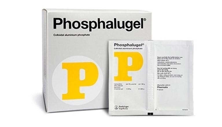 Thuốc dạ dày chữ P - Phosphalugel