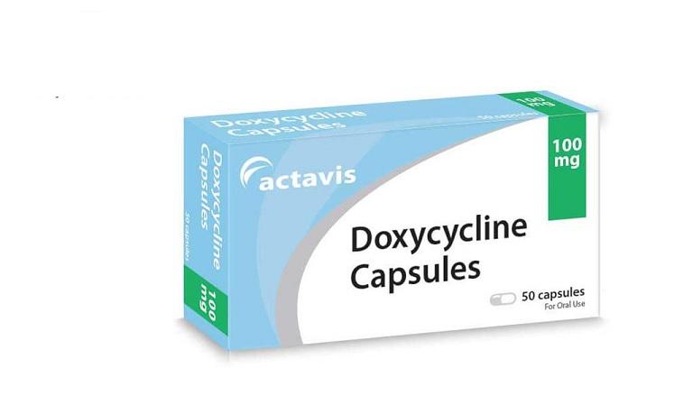Thuốc uống trị mụn bọc mủ Doxycycline thường chỉ định với người bị mụn trứng cá nặng