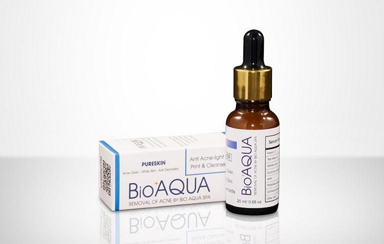 Serum Bioaqua chiết xuất từ nhiều loại thành phần tự nhiên vừa giúp làm đẹp vừa loại bỏ mụn hiệu quả