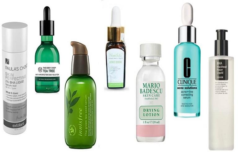 Dùng kem/serum trị mụn nên chọn sản phẩm có nguồn gốc rõ ràng, thành phần an toàn với làn da