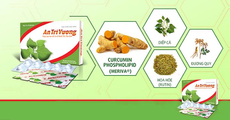 Thực phẩm chức năng An Trĩ Vương được chiết xuất 100% từ các thảo dược có sẵn trong tự nhiên nên rất an toàn cho người sử dụng
